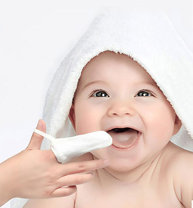 Infant oral hygiene